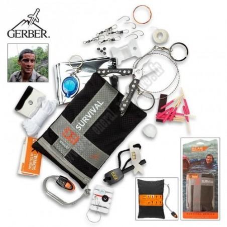 Bear Grylls couteaux de survie Kit de Survie - Ultimate Kit Bear Grylls GE000701 Couteaux de survie camp & rando