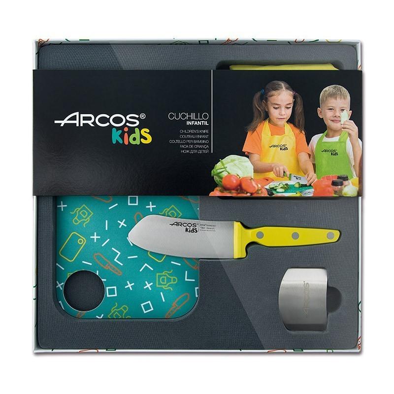 Arcos couteaux de cuisine Coffret de cuisine pour enfant - Arcos Kids A792725 Couteaux de cuisine