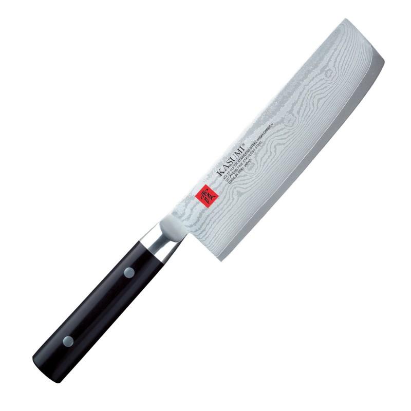 KASUMI Couteau Nakiri Kasumi Damas 18cm 84017 Couteaux japonais
