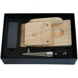 Le Berger Coffret Couteau à Huitres Le Berger HIPPOCAMPE + Sabot H8103PAS Couteaux de cuisine