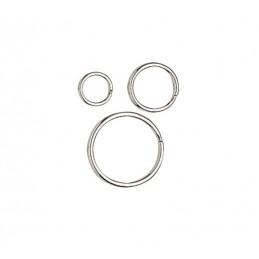 Sachet de 5 anneaux brisés 30 mm