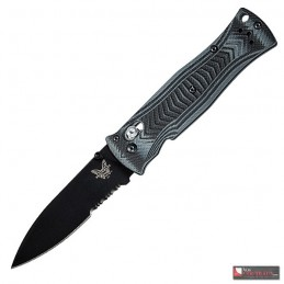 Benchmade Pardue Axis Design Lame Noire Mixte - BN531SBK