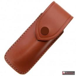 Pielcu Etui Cuir Marron Pielcu - Port vertical couteau de 12 à 13 cm de manche 3699 Home