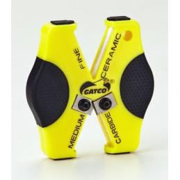 Gatco Gatco - Aiguiseur de poche tiges céramique en croix + pastilles carbure GT06402 Affutage Aiguisage
