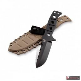 Benchmade BN375BKSN Adamas - couteau fixe tactique
