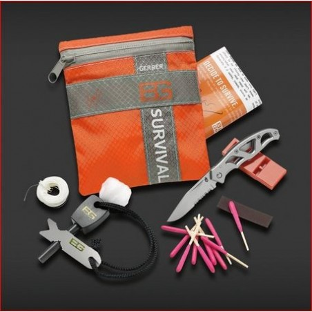 Bear Grylls Kit de survie - Bear Grylls Bsic Kit GE000700 Survie, Camp et Rando