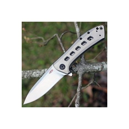 Zero Tolerance Couteau Zero Tolerance REXFORD KVT Titanium KVT ZT 0801TI ZT0801TI Couteaux tactiques de poche