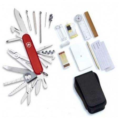 Victorinox Set Victorinox SOS - Couteau suisse 47 fonctions 1.8810 Couteau suisse