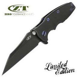 Couteaux Zero Tolerance Zero Tolerance 0392 Black - Edition Limitée ZT0392BLK Home