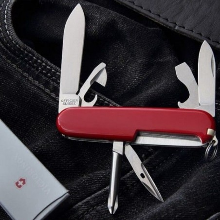 Victorinox Victorinox Tinker Small Rouge - Couteau suisse 13 fonctions 0.4603 Couteau suisse