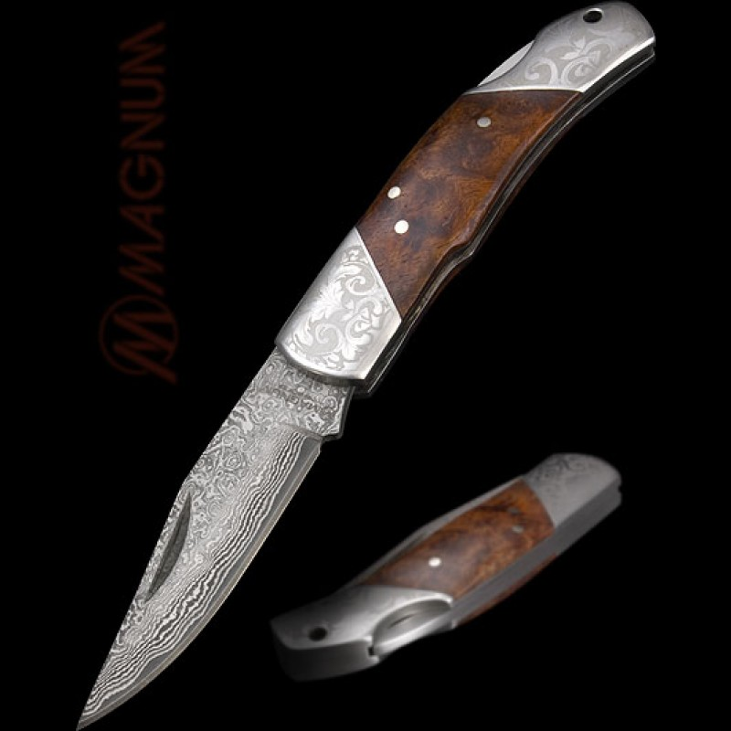 couteau damas boker magnum