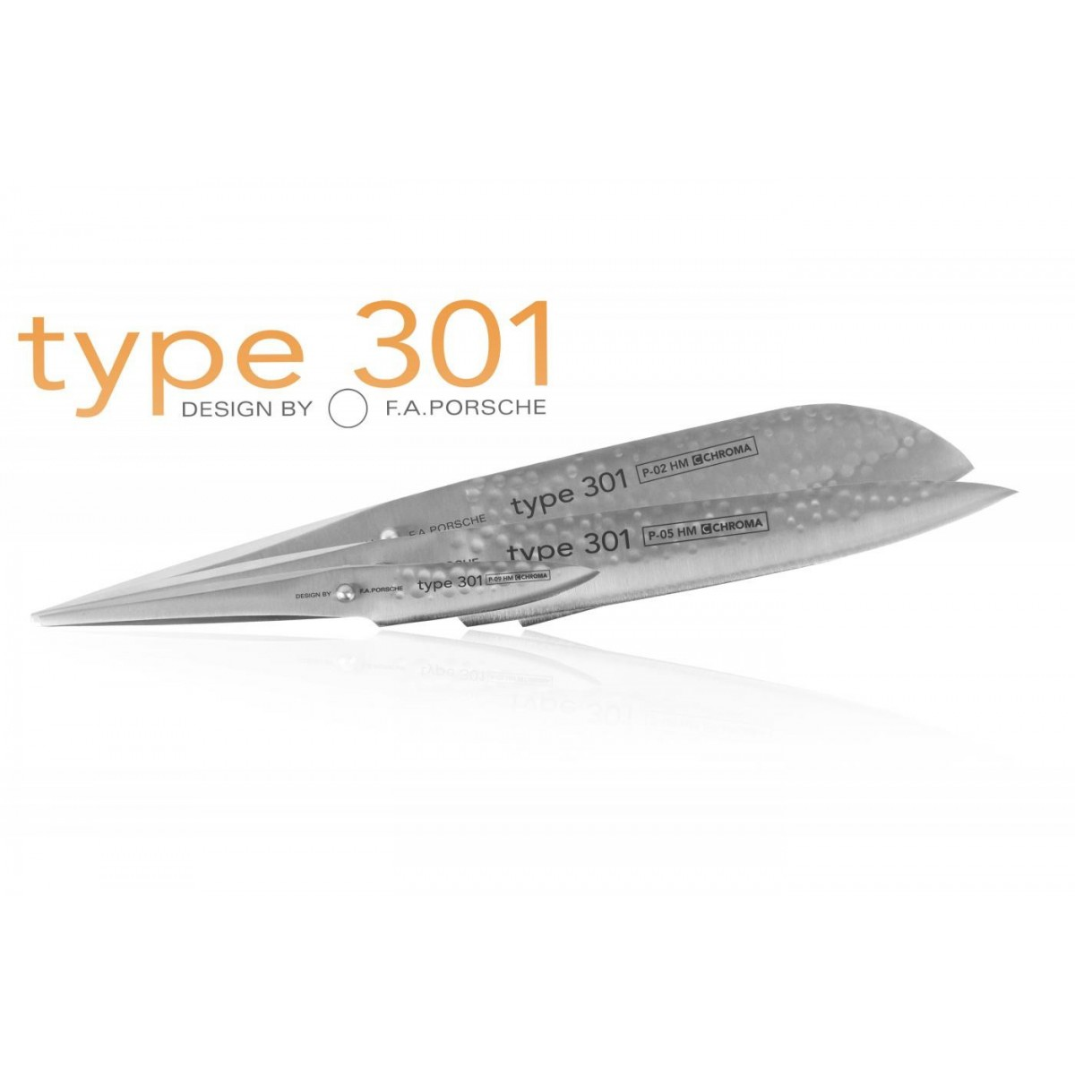 couteau japonais type 301 design chroma